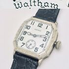 Antique Art Deco 1927 Waltham USA Conqueror Mens Mechanical Wristwatch 1920s