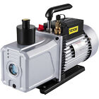 Pump Vane Vacuum Deep Rotary Single Stage 12CFM 1HP HVAC Tool Air Conditioning