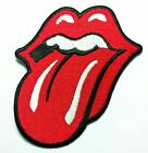 TONGUE  LIPS ROLLING STONES Iron On Embroidered Patch45