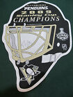 Marc Andre Fleury signed 2009 Pittsburgh Penguins Stanley Cup Champions maskflat
