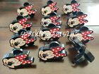 12pcs Disney Minnie Mouse Birthday Cake Cupcake Rings Party Supplies Decoration