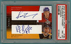 2002 UD Rookie Update Ray Bourque Ron Hainsey Auto Issue 165 PSA 8 Bruins POP1