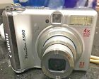 Canon PowerShot A560 7.1MP Digital Camera with 4x Optical Zoom with slight crack