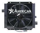 MOBILE HYDRAULIC OIL COOLER DC24V 20 W 24V FAN  SHROUD WITH OR WITHOUT BYPASS