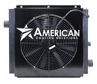 MOBILE HYDRAULIC OIL COOLER DC24V 35 W 24V FAN  SHROUD WITH OR WITHOUT BYPASS