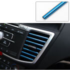 10 Pcs Car Air Conditioner Decoration Strip Accessories Colorful Air Outlet Us
