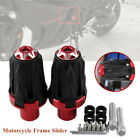 2PCS M10 Motorcycle Frame Engine Anti-falling Protector Ground Crash Slider Part