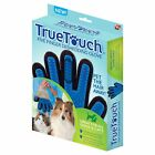 TrueTouch FiveFinger Deshedding Glove for Pet Grooming Cats  Dogs As seen on TV