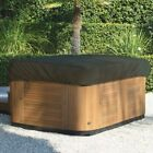 Hot Tub Cover Premium Spa Single Large 96 x 96 x 12 Color Gray HTCP5247G
