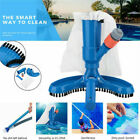 Portable Pool Cleaner Swimming Pond Fountain Vacuum Brush Cleaner Cleaning Tool