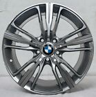 Set of 4 Wheels 18 inch Gunmetal Rims fits BMW 328iS