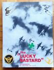 LUCKY BASTARD SIGNED By Author John Prewit B 17 Flying Fortress WWII aircrafts