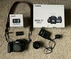 Canon EOS 7D mkii 20.2 MP Excellent Condition with 50mm f1.8 STM lens boxed