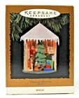 RARE 1996 HALLMARK TREASURED MEMORIES CHRISTMAS MAGIC LIGHT ORNAMENT SCARCE LOOK