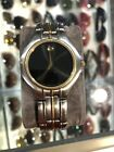 Mens Movado Museum 81.C2.885 Two-Toned Black Dial Swiss Wrist Watch