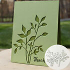 Branch Leaves Metal Cutting Dies Scrapbooking Paper Cards Album Art Stencil NEW