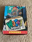 1991 Topps Wacky Packages Box With 47 Packs