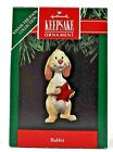 RARE NEW 1991 HALLMARK RABBIT FROM WINNIE THE POOH COLLECTION CHRISTMAS ORNAMENT