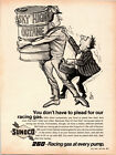 Vintage 1969 Sunoco 260 Racing Gas at Every Pump Print Ad