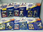 Lot 6 Starting Lineup Action Figure Kenner MLB Yankees Mets Red Sox Rangers A's