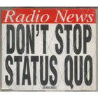 STATUS QUO Don't Stop CD UK Pgm 1996 3 Track B/W Extended Fade And Temporary