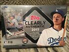 2 Boxes of 2017 TOPPS CLEARLY AUTHENTIC HOBBY BOX FACTORY SEALED 1 AUTO PER BOX