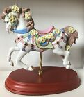 Lenox Carousel Horse Emerald and Evening Primrose w COA
