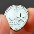 LONE STAR STATE QUARTER Coin Guitar Pick silver texas guitarist plectrum z7qq