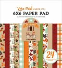 Echo Park Double Sided Paper Pad 6X6 24 Pkg My Favorite Fall 12 Designs 2 Eac