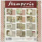 Stamperia Double Sided Paper Pad 8X8 10 Pkg Alice 10 Designs 1 Each