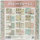 Stamperia Double Sided Paper Pad 8X8 10 Pkg Pink Christmas 10 Designs 1 Each