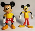 Retro Bendable Mickey Mouse Rubber Toy  Plastic Bendable Micky Mouse Hong Kong