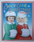 NEW CANDY CANE CHRISTMAS Paper Dolls Super cute By Eileen Rudisill Miller