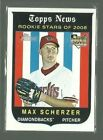 Max Scherzer Rookie Cards and Autographed Memorabilia Guide 11