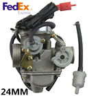 24mm Electric Carburetor For PD24J 4 stroke GY6 125cc 150cc Engine Motorcycle US