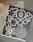 Stampin Up May Flowers Framelit Dies EUC on Magnet Sheet