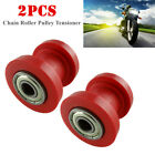 10mm Chain Roller Slider Tensioner Wheel Guide Pulley Dirt Pit Bike Motorcycle