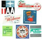 Airline Luggage Labels Dealer Resale Lot 30 Gems in Excellent Condition