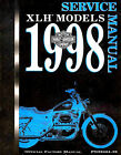 1998 Harley Davidson Sportster XL XLH 883 1200 service manual on CD