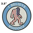 Bigfoot Lives Patch - Sasquatch in the Forest (Iron on)