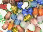 NEW 20 Pieces Mixed Colors Assorted Lampwork Glass Rose Beads WHOLESALE Bulk Lot