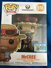 SDCC 2019 FUNKO POP Games Overwatch McCree Official Comic Con Sticker #516