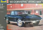 '65 Chevy Corvette Sting Ray Revell scale 1:8 KIT 07443 /// NEW /// NEVER OPENED