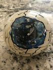 HUGE SIGNED EYEBALL SPHERE Art Glass Sculpture Paperweight 1993