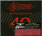The Eagle Has Landed 40 Live by Saxon (Box 3 cds, Digipack Deluxe, Brazil, 2019)
