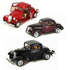 Best of 1930s Diecast Cars Set 6 Set of Three 1 24 Scale Diecast Model Cars