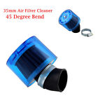 45 Degree Bend 35mm Air Filter Cleaner For 50cc 110cc 125cc Splash Proof w/Cover
