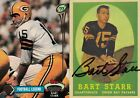 Bart Starr Football Cards, Rookie Card and Autograph Memorabilia Guide 12