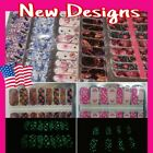 Color Nail Polish Strips BUY 04 GET 02 FREE Stickers Manicure Christmas Autumn