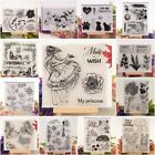 20 Styles Silicone Clear Rubber Stamps Seal Scrapbooking Album Card Diary C O3D1